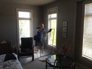window screens cleaning