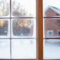 Window Cleaning in Winter